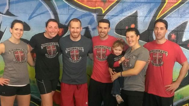 "February 9th, 2013 ""Continuous Clock"" Competition at CrossFit HD."